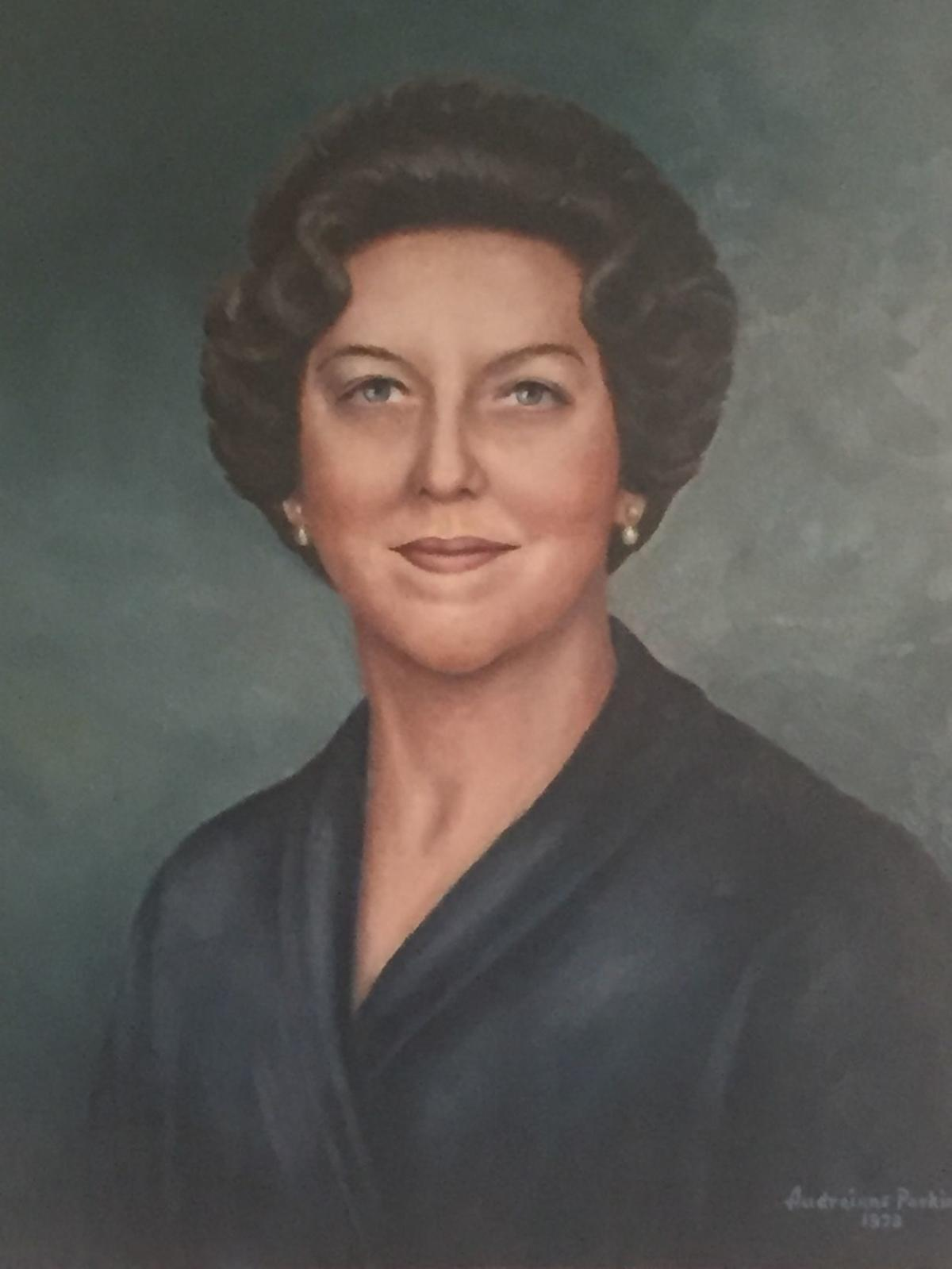 Adam Stephen House benefactor Mary       Vernon Mish portrait.JPG