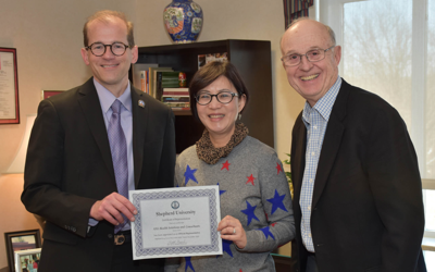 Shepherd signs agreement to recruit students from China, Taiwan and Hong Kong