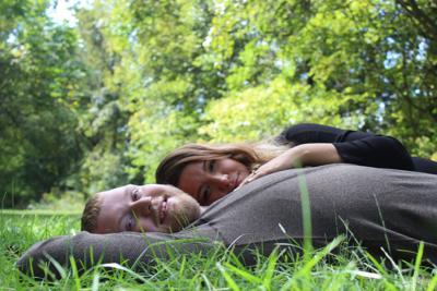 Amy Papajohn and Aaron Nicewarner