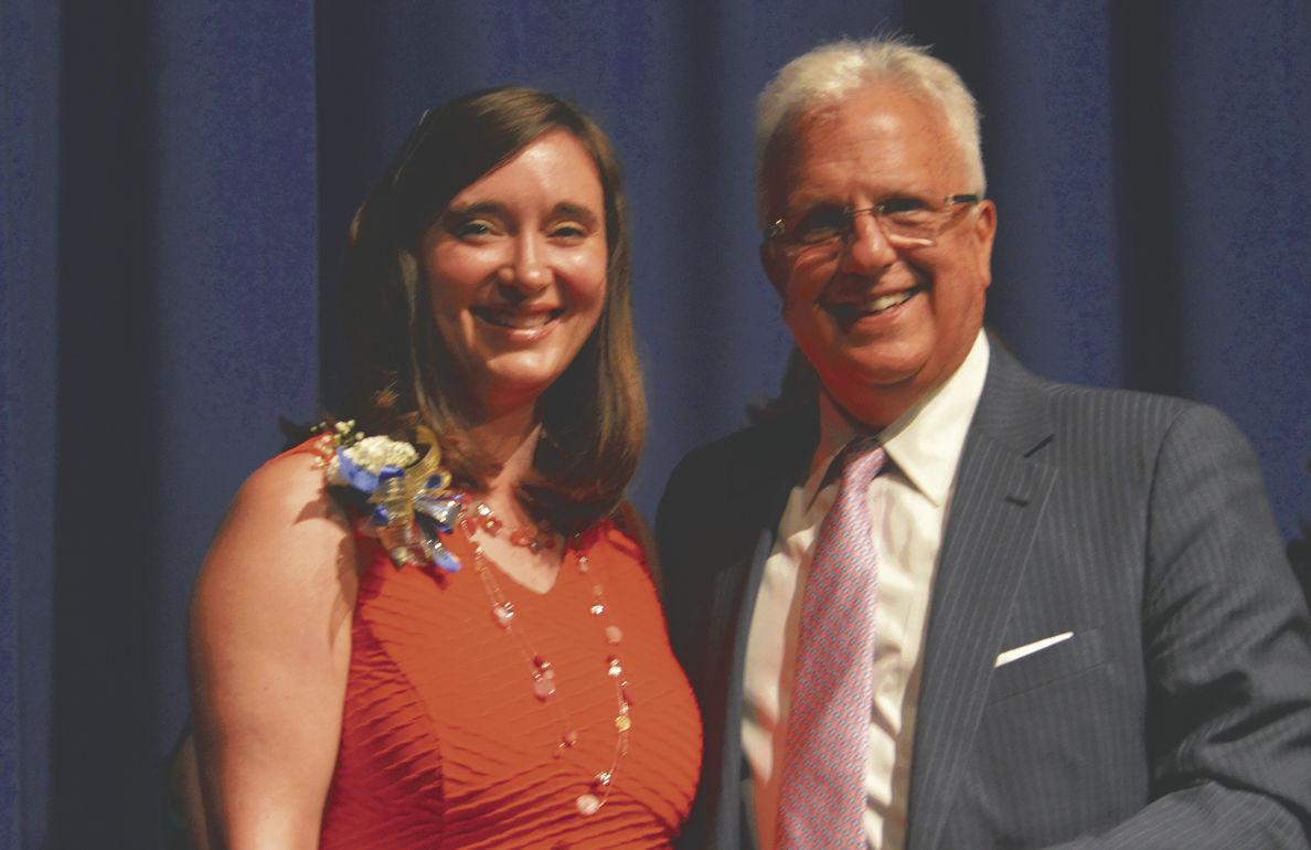 Top Teacher: Miller honored at Hedgesville High