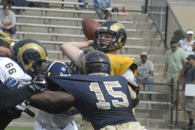 Eppard, Curran shine for Rams in spring game