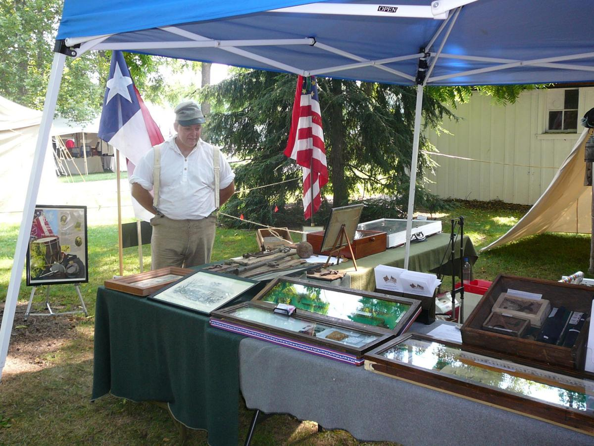 Hedgesville group finds and displays Civil War relics