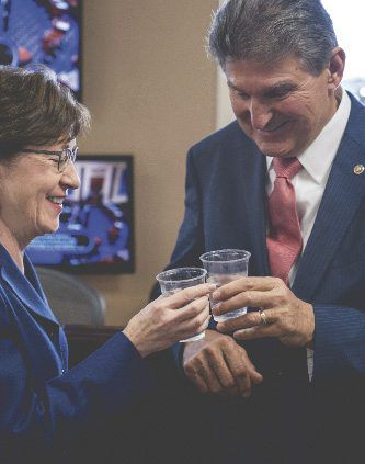 Manchin, Capito: Time to get to work