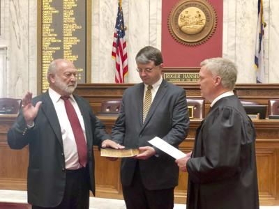 Little sworn in to replace Hollen