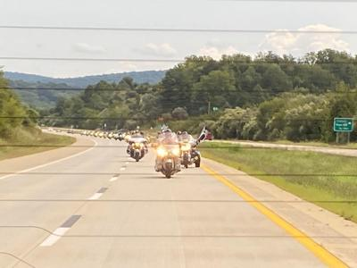 Motorcyclists ride in remembrance of Sept. 11