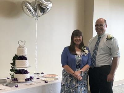 Ken and Lynette Brinklow celebrate  25th wedding anniversary