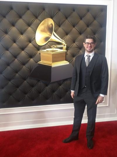 Andrew Brown at the Grammy's
