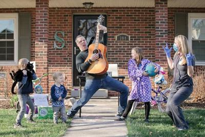 Front porch photo guitar