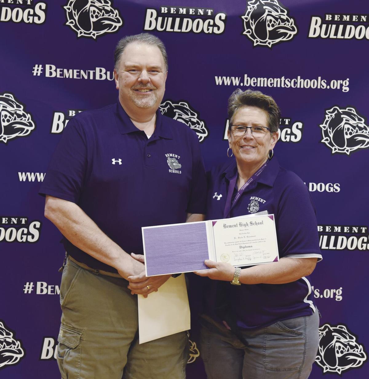 Greenwood honorary diploma