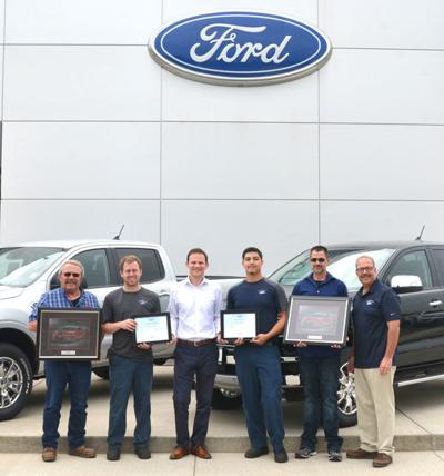 Ridings employees honored