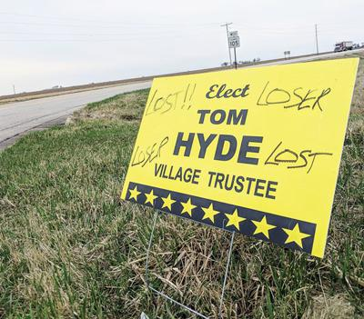 Candidate reports vandalism of signs | News | journal