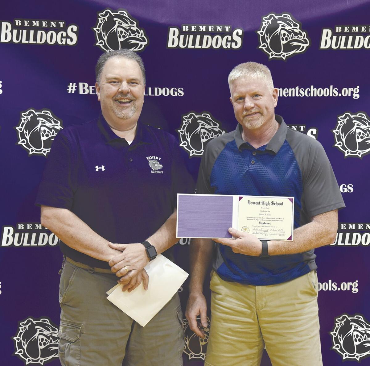 Cline honorary diploma