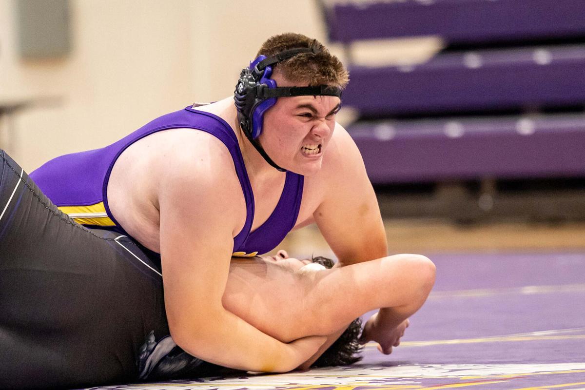 MHS wrestling Brandon Peters