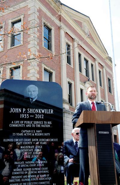 Shonkwiler memorial dedication