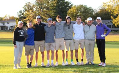 MHS golf seniors 2020