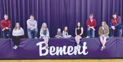 Bement High School homecoming court 2021