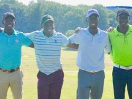 Amateur golfers from Uganda seeing the sport in the United States