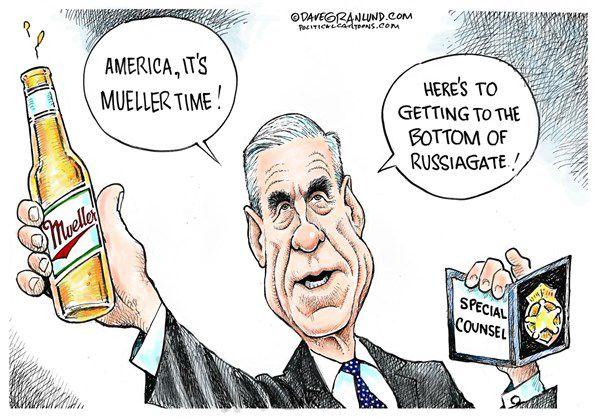 Gene Robinson Trump Meets Mueller Columnists