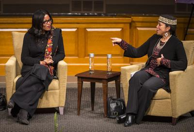 Malcolm X's daughters speak at Wake Forest