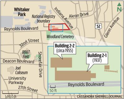 MAP: Whitaker Park