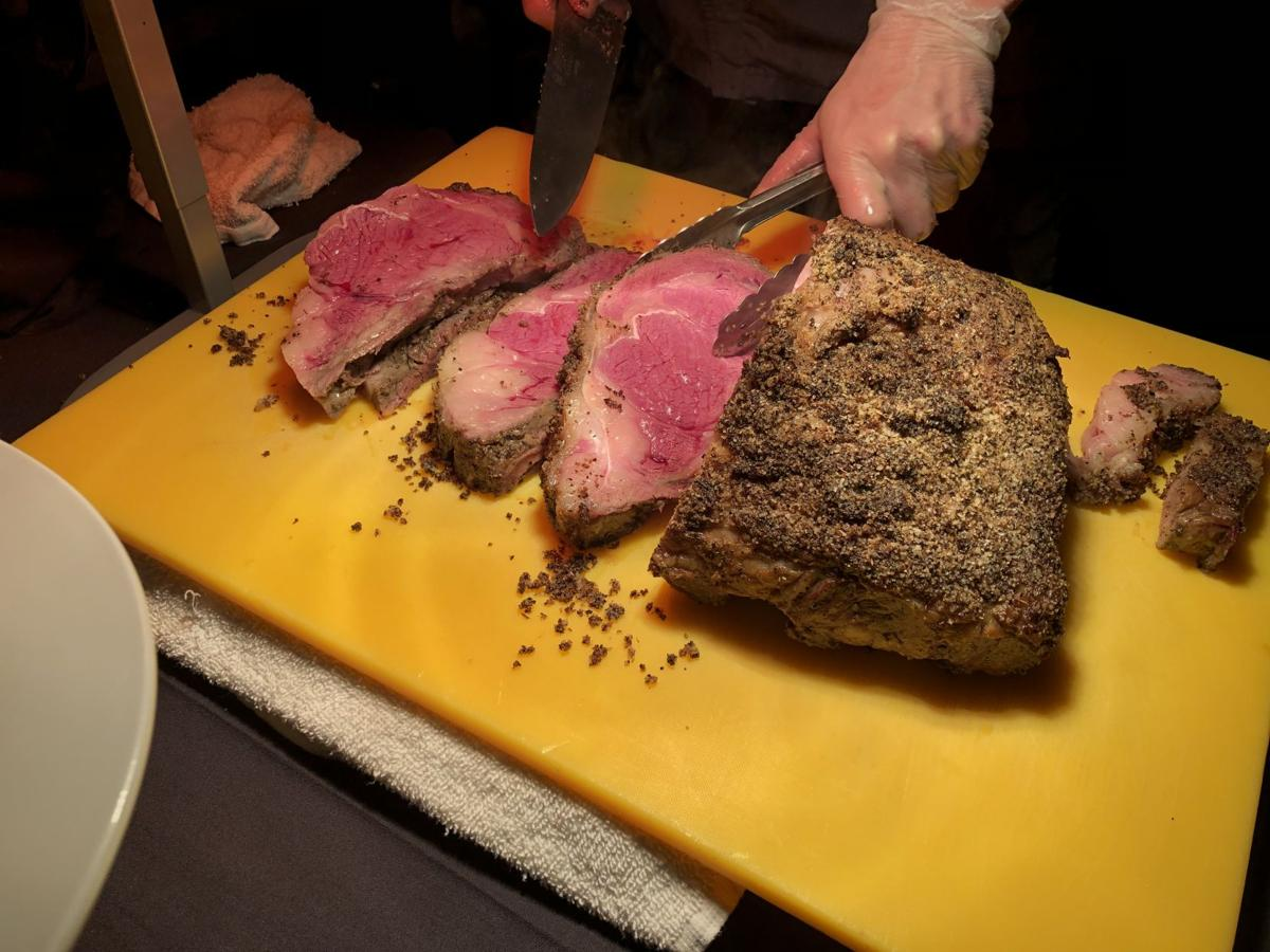 Prime Rib at The Trophy Room
