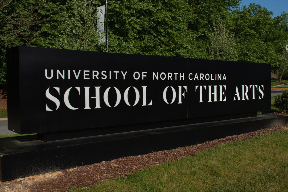 UNCSA UNC School of the Arts sign