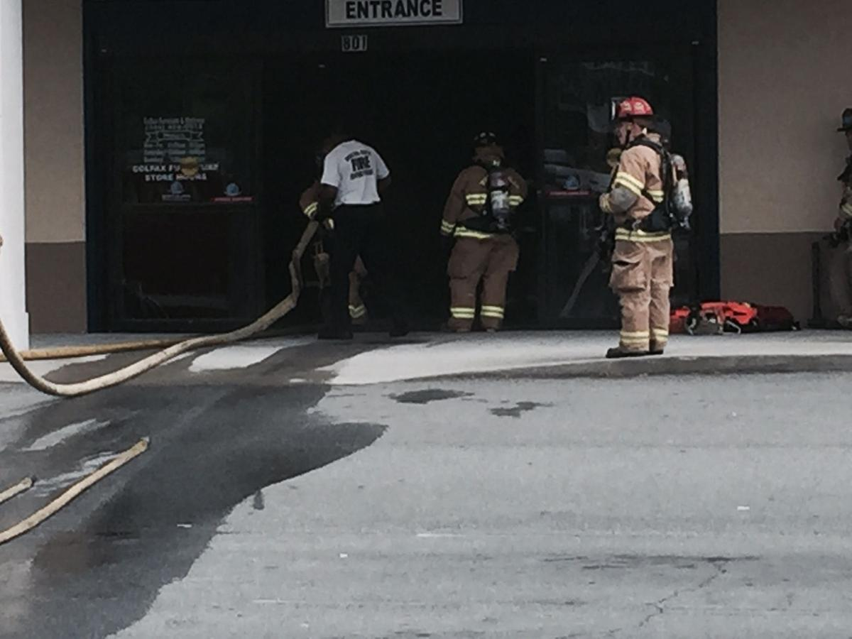 Fire damages Colfax Furniture store on Silas Creek Parkway ...