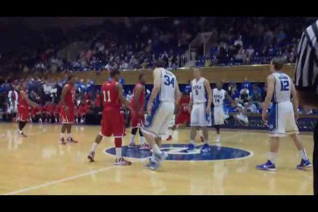 Duke and Winston-Salem State tipped off at Cameron Indoor Stadium in an  exhibition game