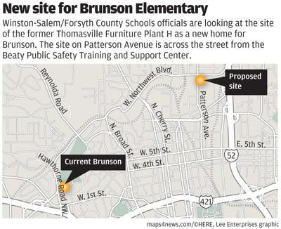 New site for Brunson?