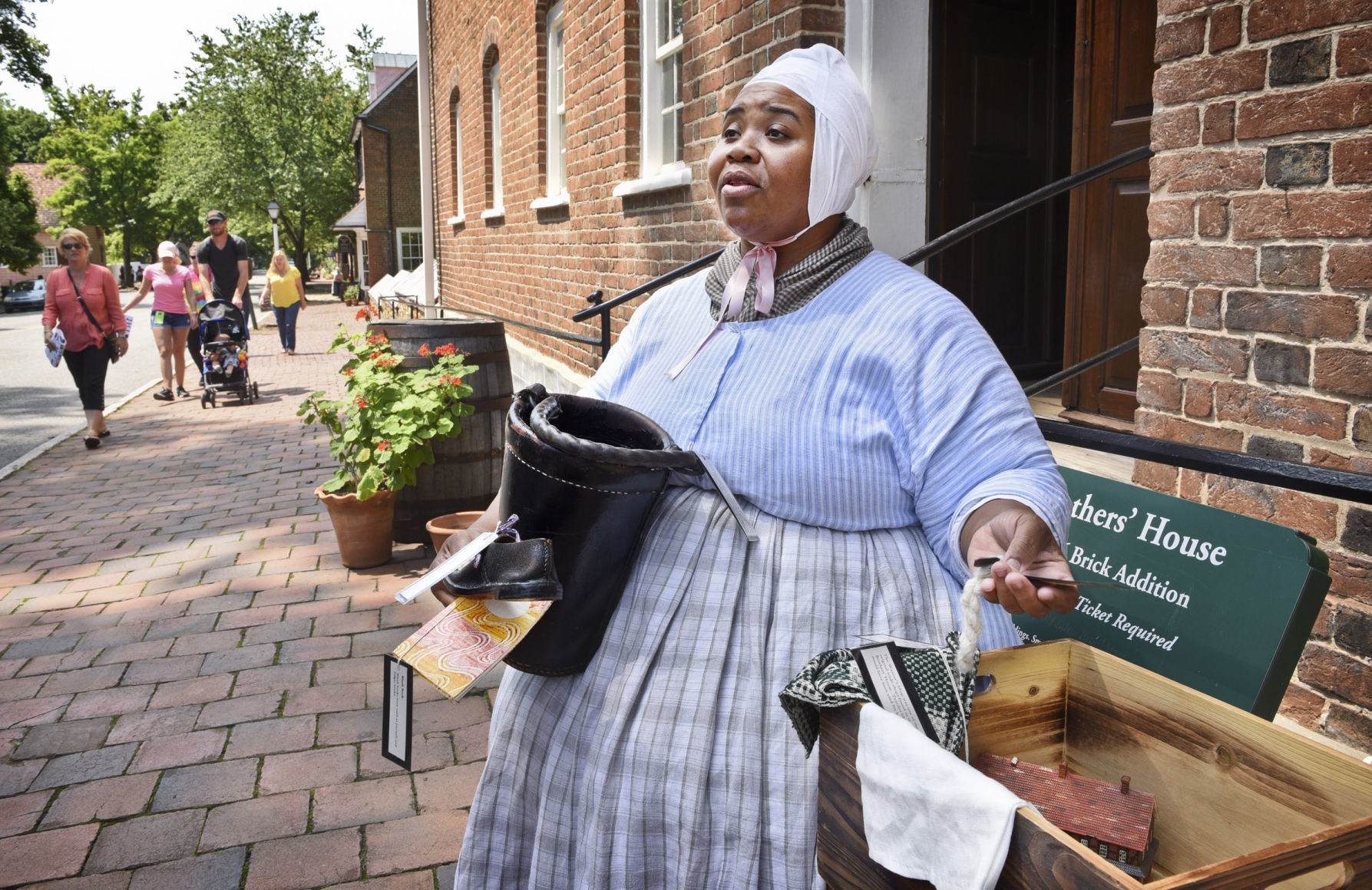 Old Salem's ambitious plan goes beyond wheelchair ramps to put history in every hand | Winston Salem Journal