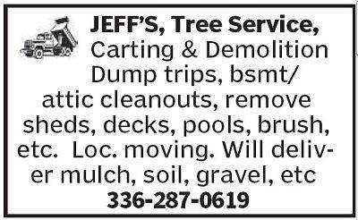 Jeff's Carting & Hauling