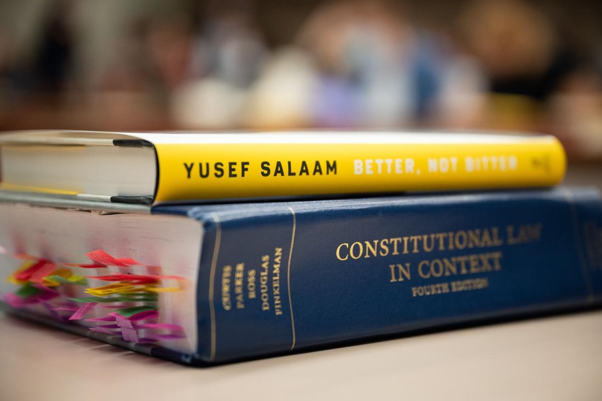 Yusef Salaam at WFU Law School