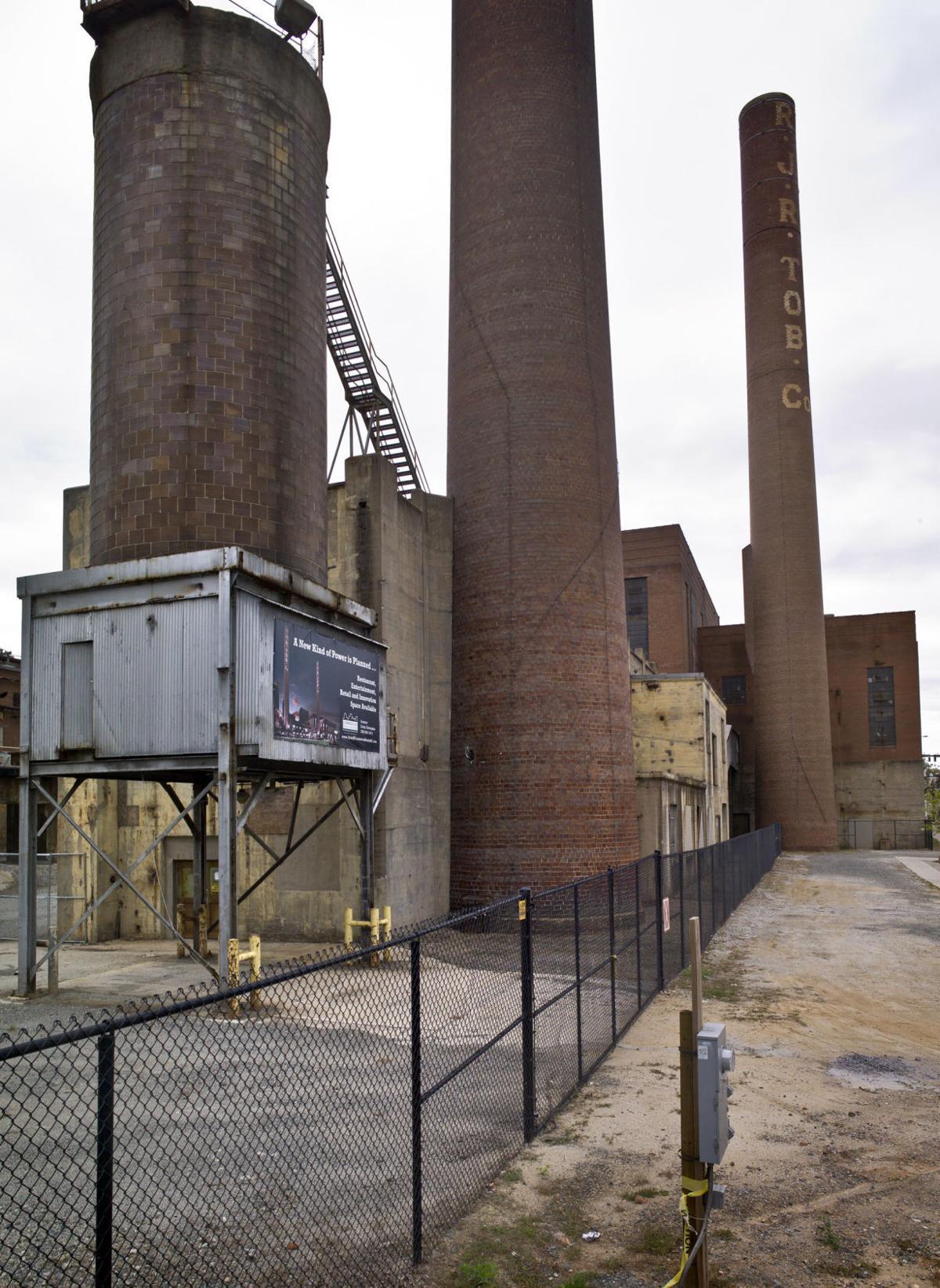 Bailey Power Plant veritcal