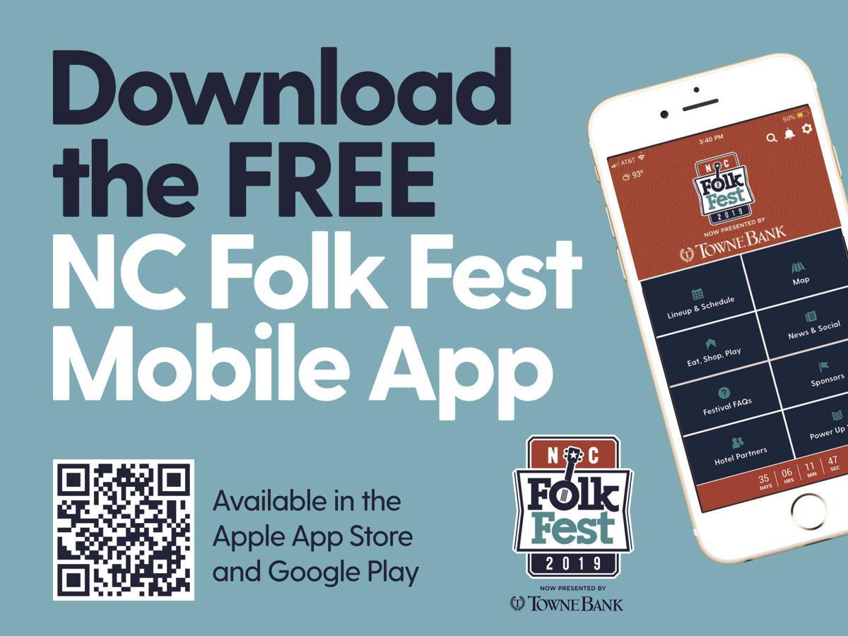 NC Folk Fest app