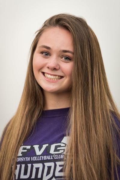 HSX Walkertown Volleyball Heather Fulp