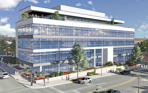 New Building At 4th And Broad To Have 5 Stories 55 000