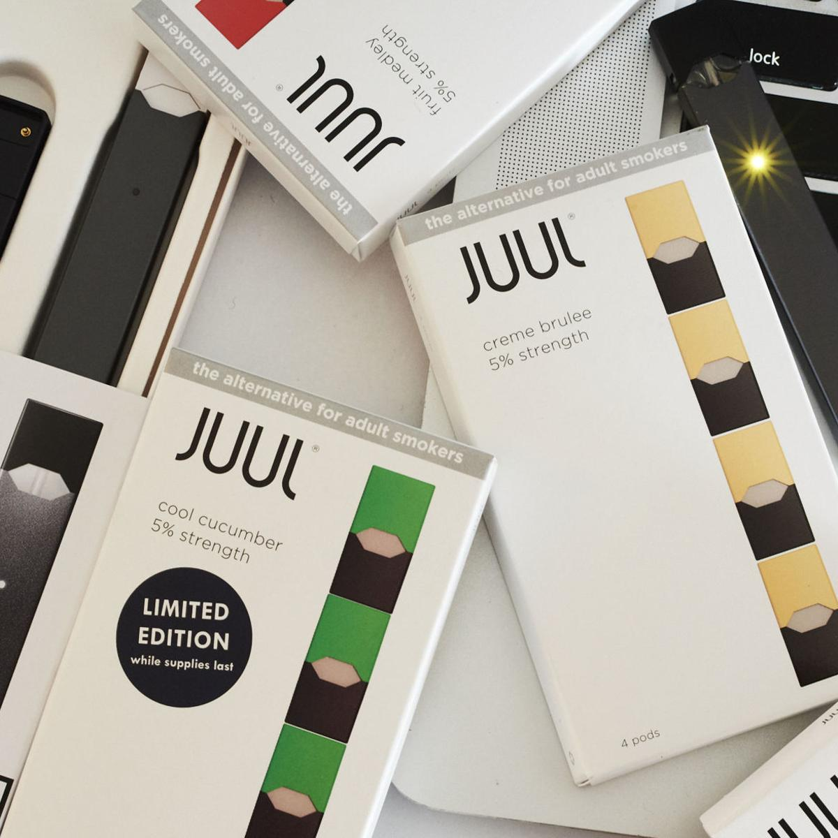 Juul confirms plans to pull four sweet-flavored e-cig styles from