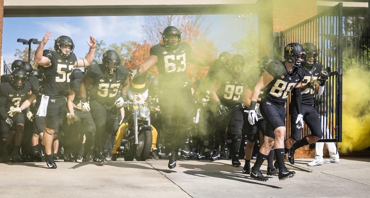 Wake Forest S 2019 Football Schedule Announced A Thursday Night