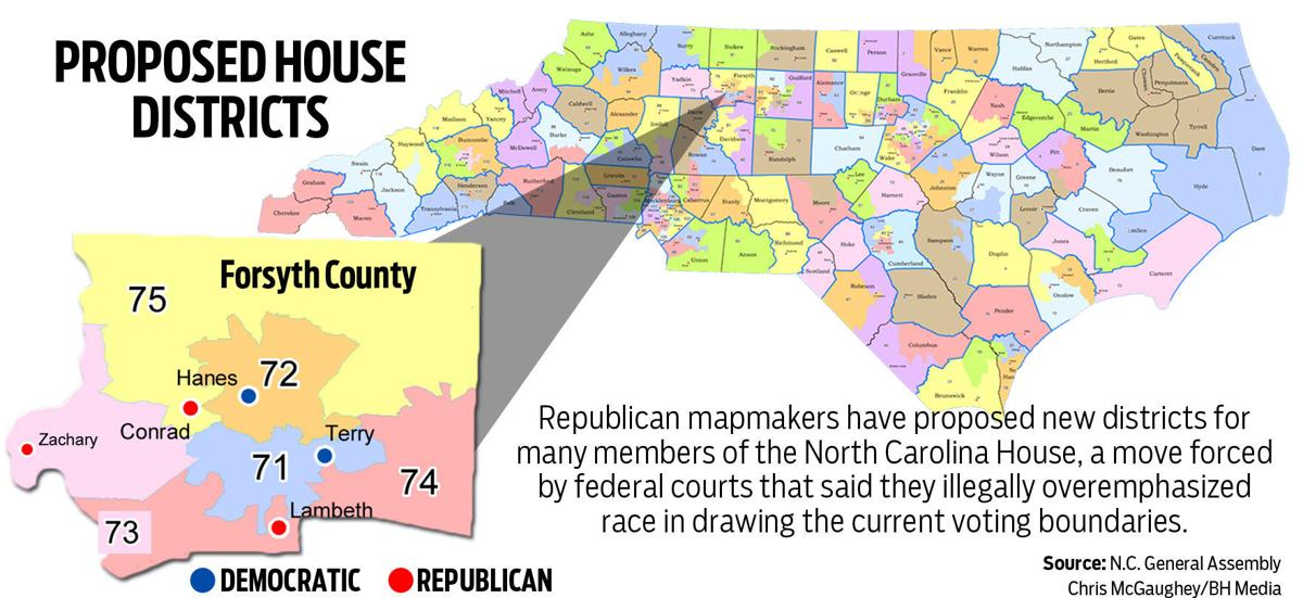 Plan shifts Forsyth County district lines | Elections