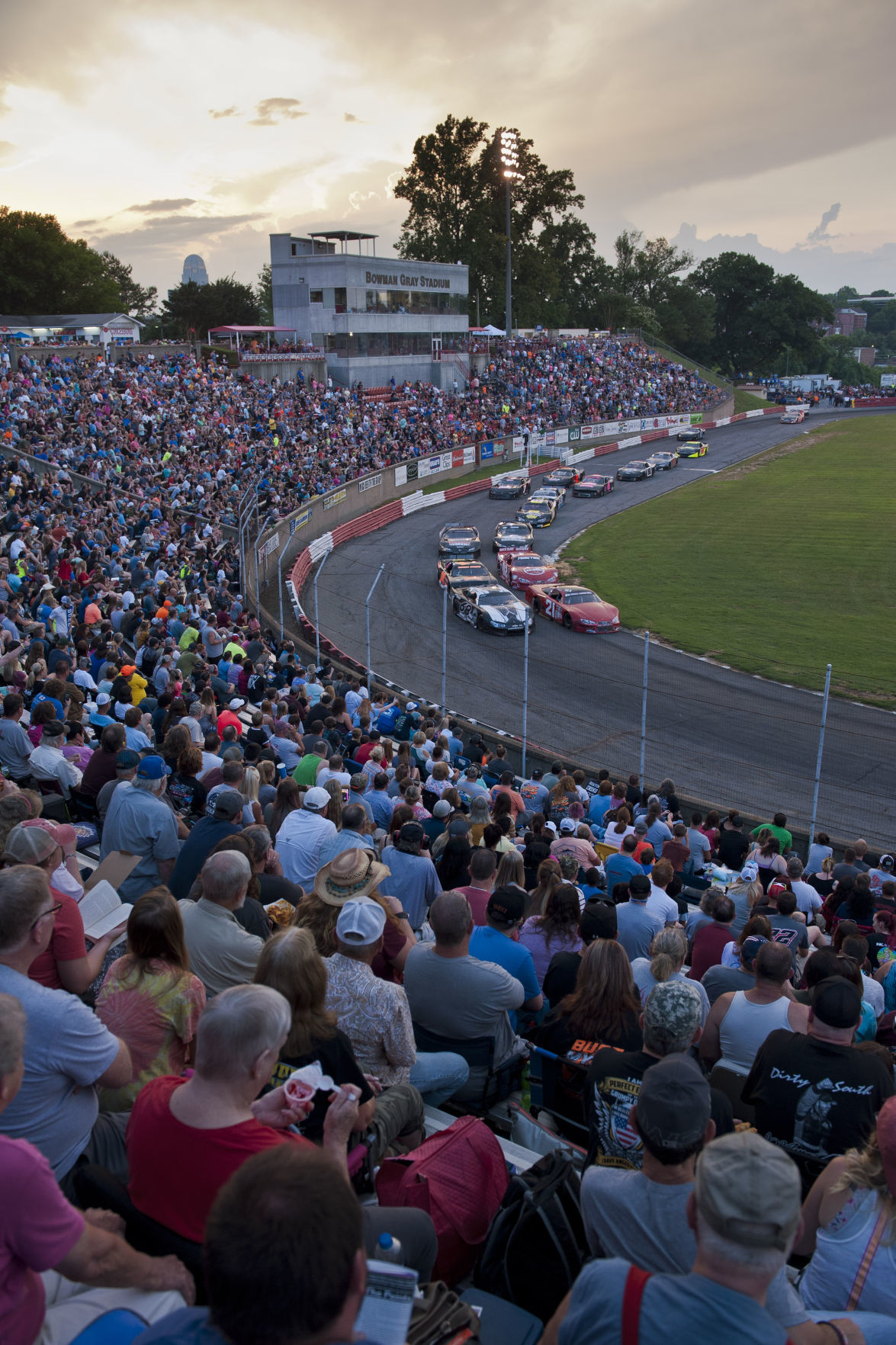 Bowman Gray racing