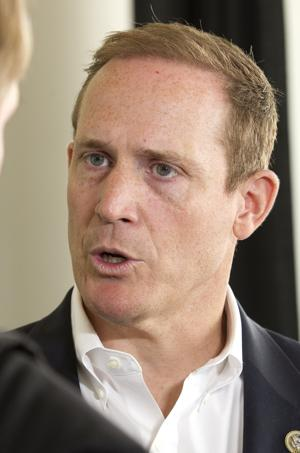 Rep. Ted Budd sets up website with Democratic challenger's name