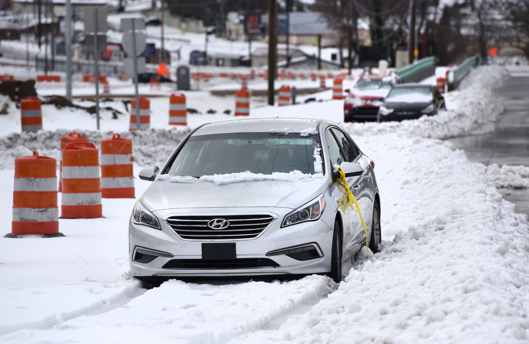 Winter storm delivers up to 14 inches of snow to Forsyth County, causing power outages, vehicle crashes and roof collapses | Winston Salem Journal
