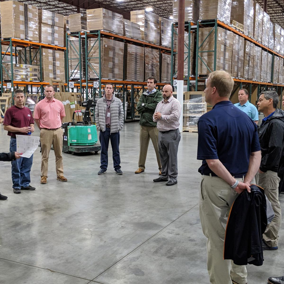Distribution center opens in Mocksville, expected to add up to 50