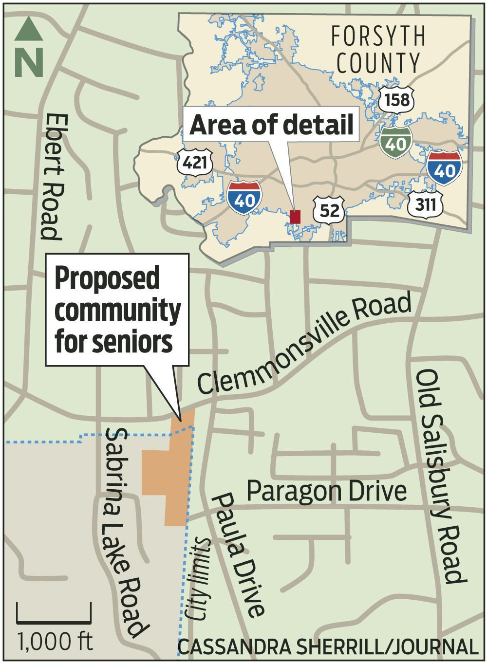 independent living facility proposed in southern forsyth