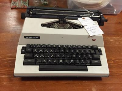 Maya Angelou's typewriter