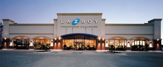 lazboy furniture galleries home furnishings home