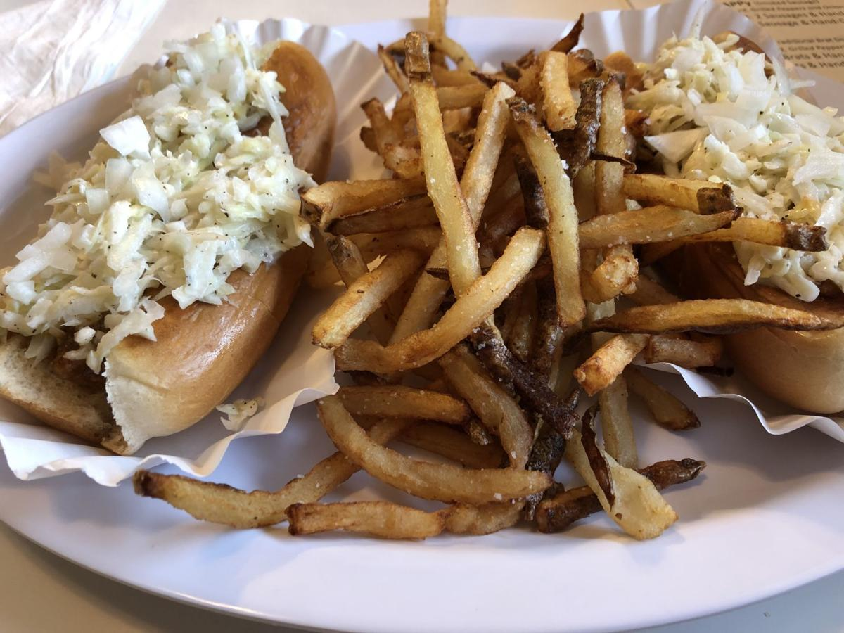 Boone Doggies hot dogs and fries