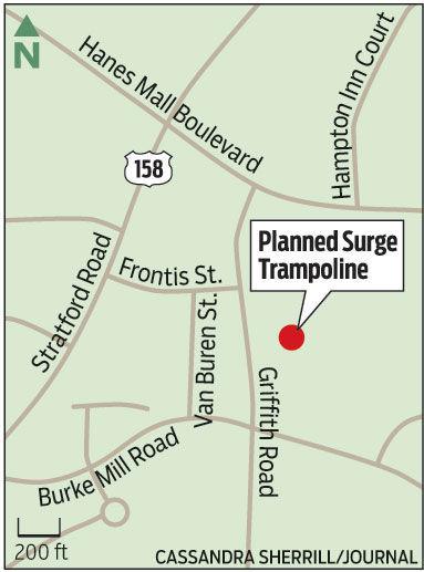 Trampoline park winston salem north carolina