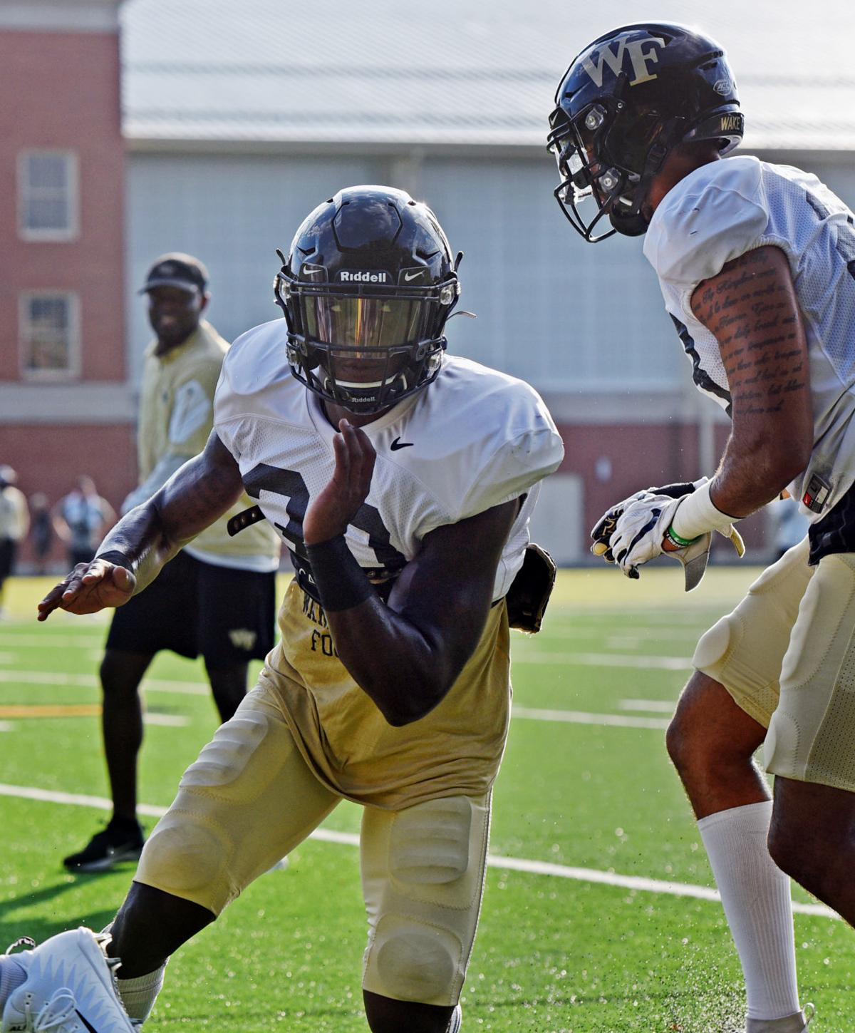 Wake Forest football practice
