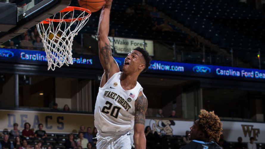Image result for john collins wake forest